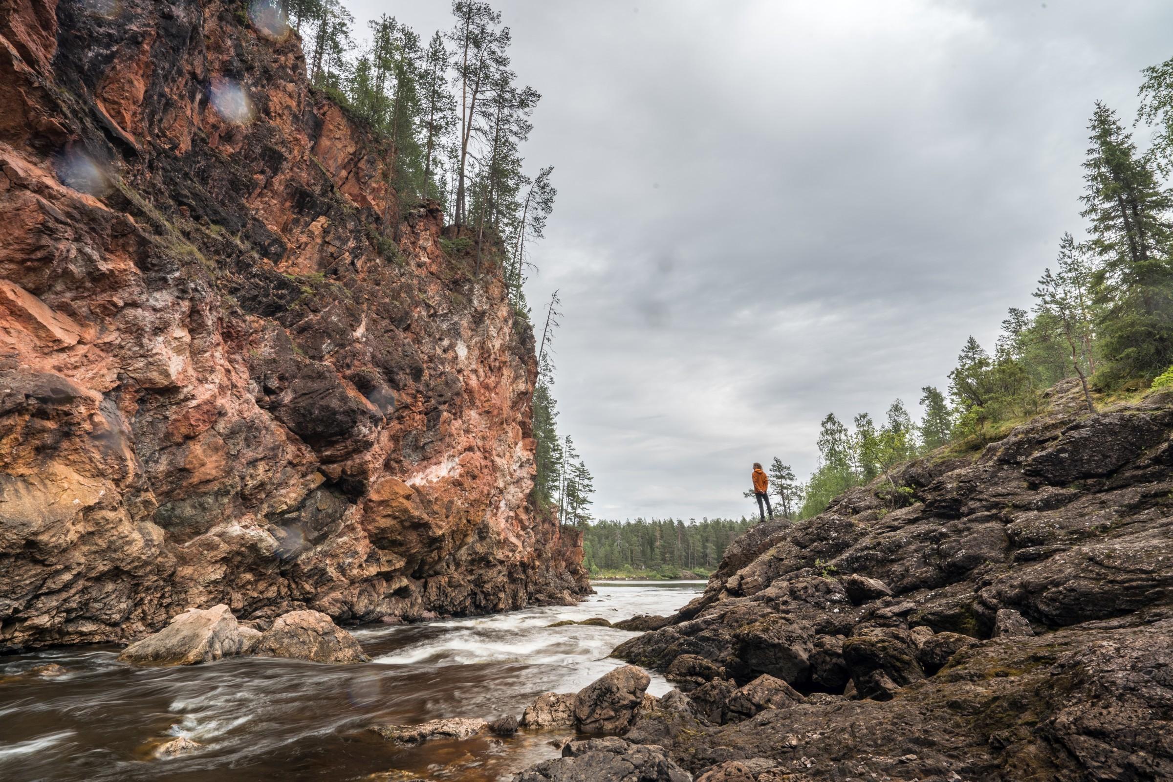 Oulanka Nationaal Park, Finland