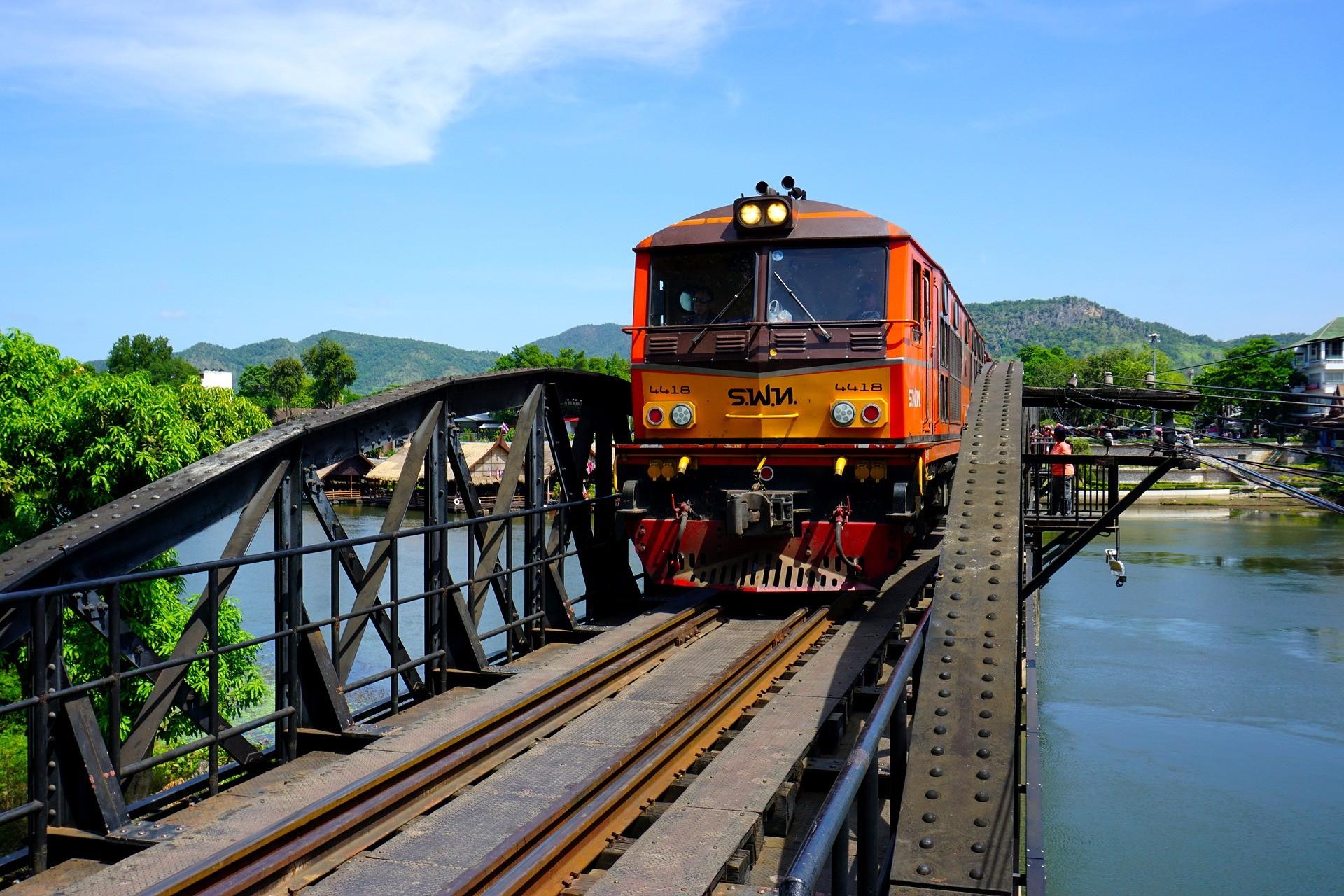 Brug over de rivier Kwai | Kanchanaburi