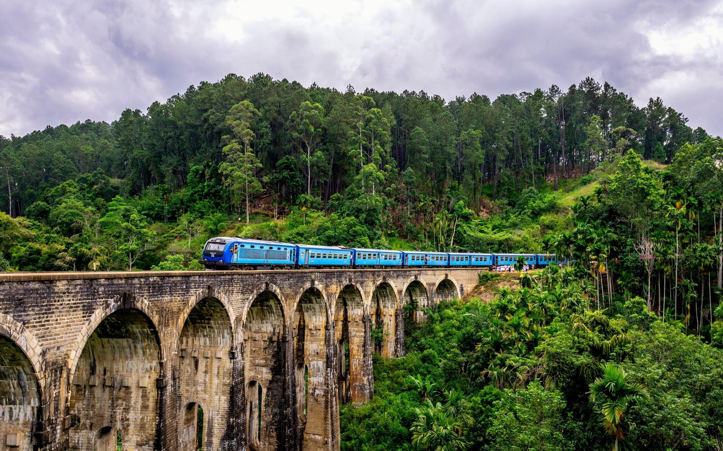 Sri Lanka, trein. 25 grootste eilanden ter wereld
