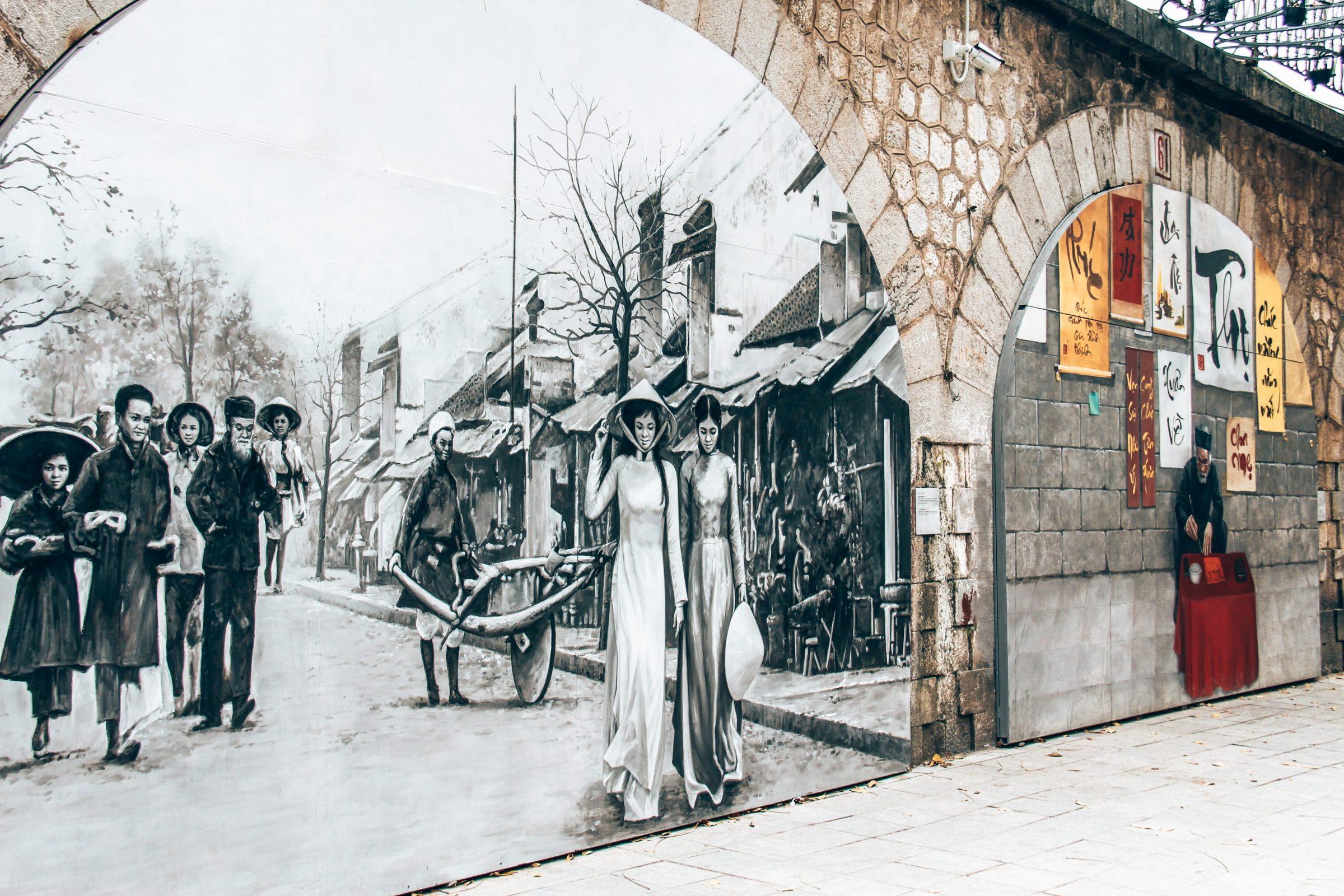 Elke muur een nieuw kunstwerk | Phung Hung Street
