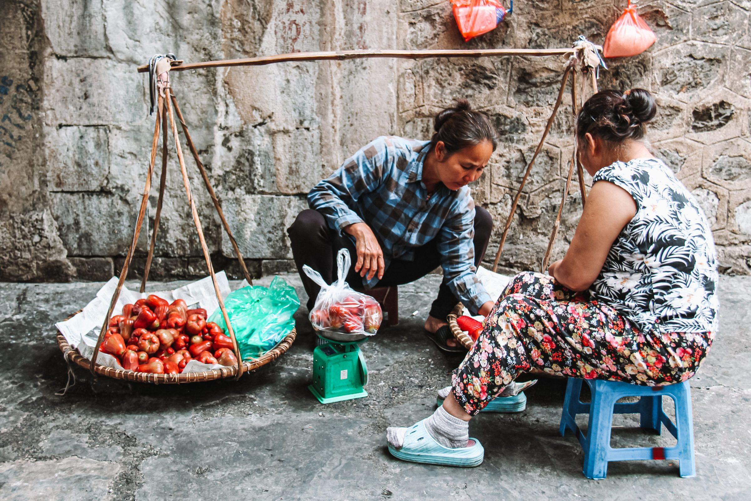 Een typische foto voor Hanoi | Het normale leven