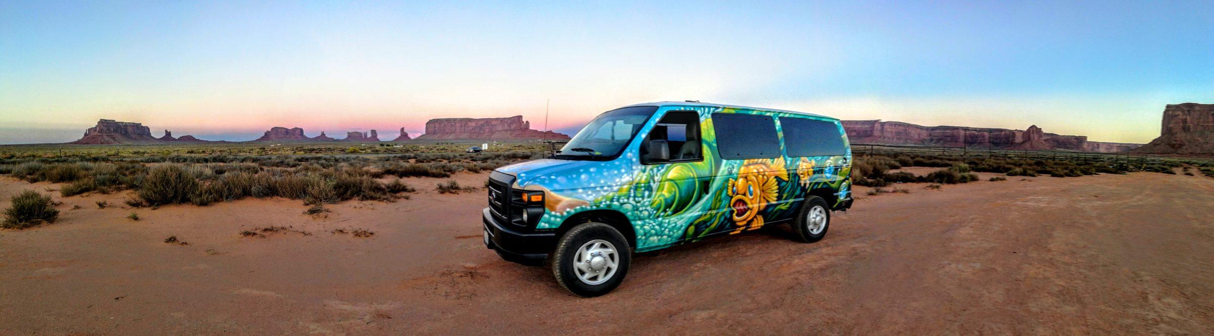Escape Campervans - Monument Valley