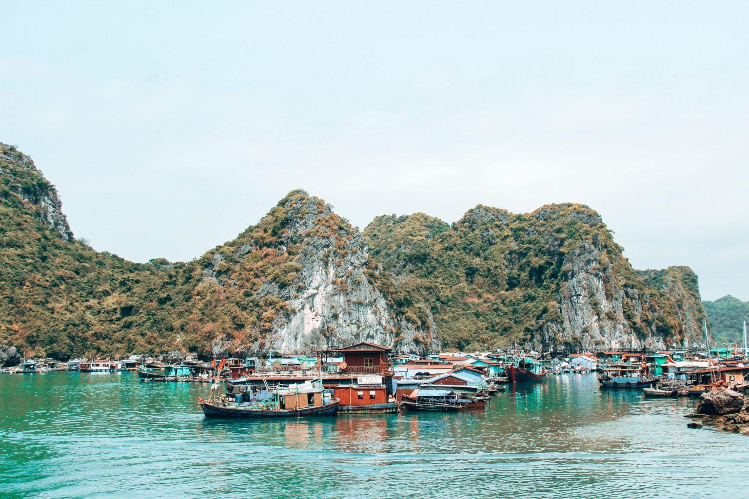 Halong Bay vanuit Cat Ba