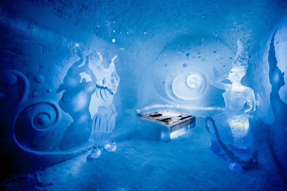 Icehotel kunst, Zweden