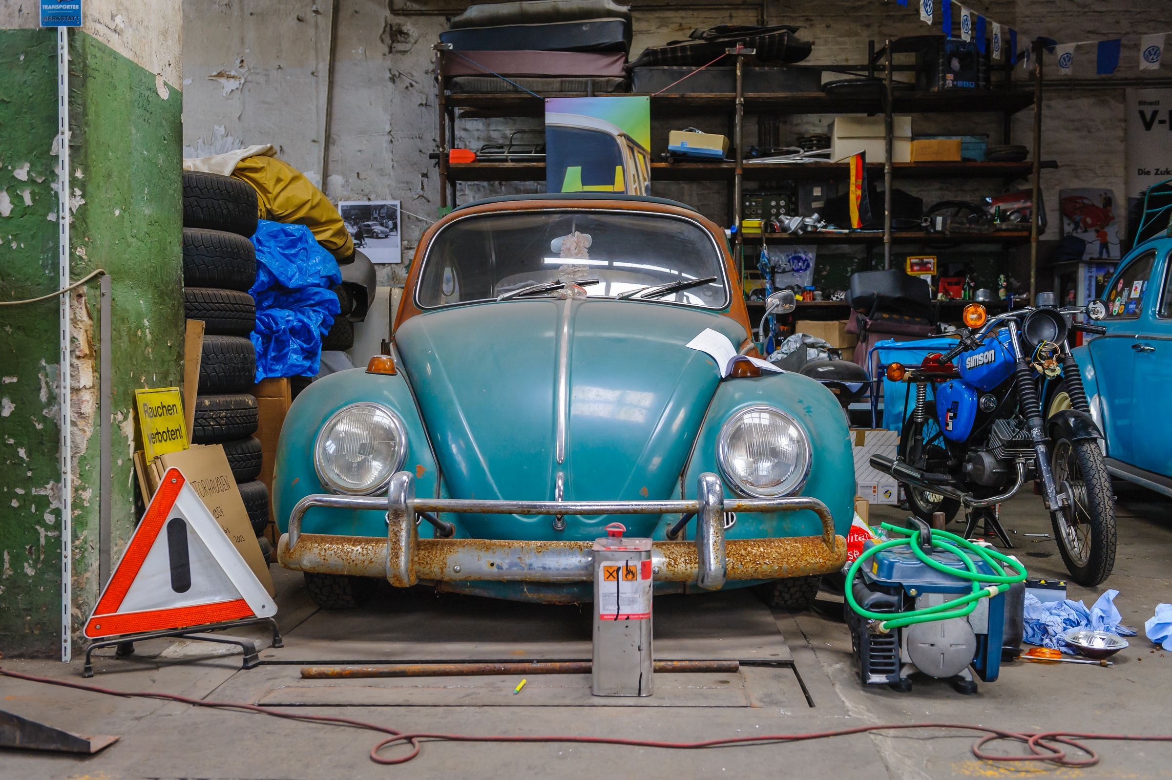 Garage Sale   Sparen voor je wereldreis