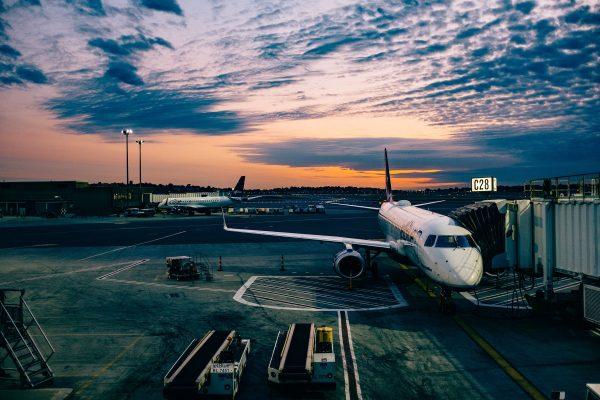 Rustig wachten op je vlucht - in de hoop weggestuurd te worden