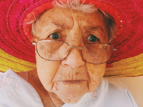 Voorkom boze blikken van Oma!