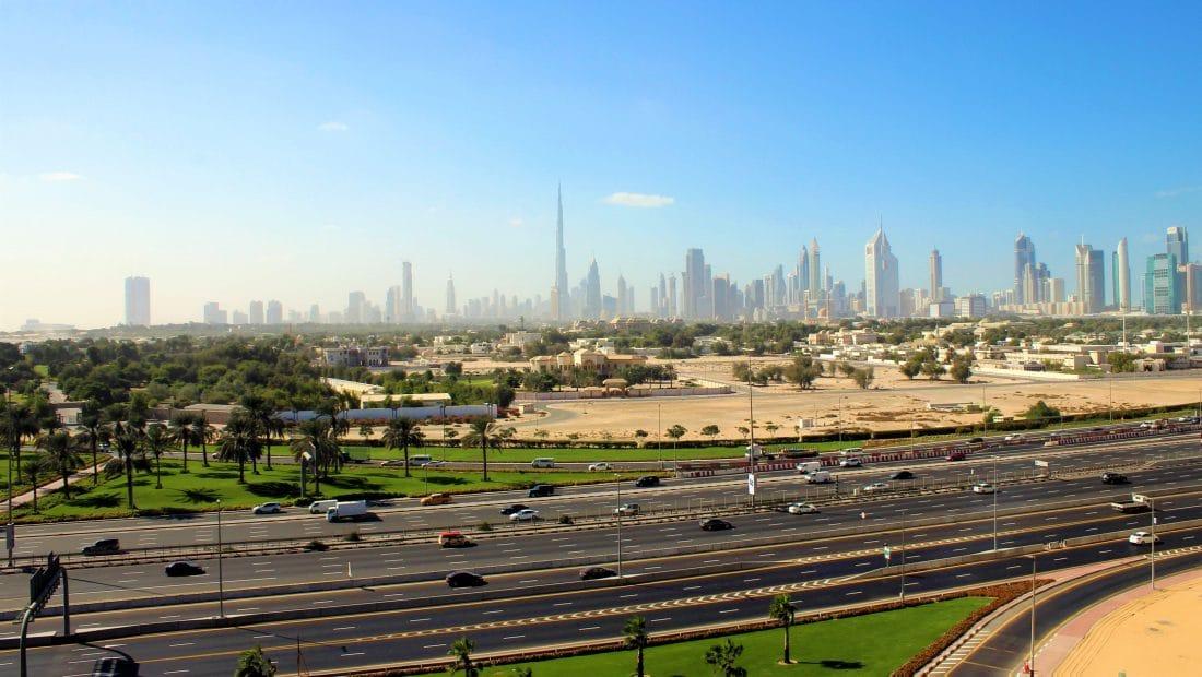 Dubai - Wereldreis route voorbeeld