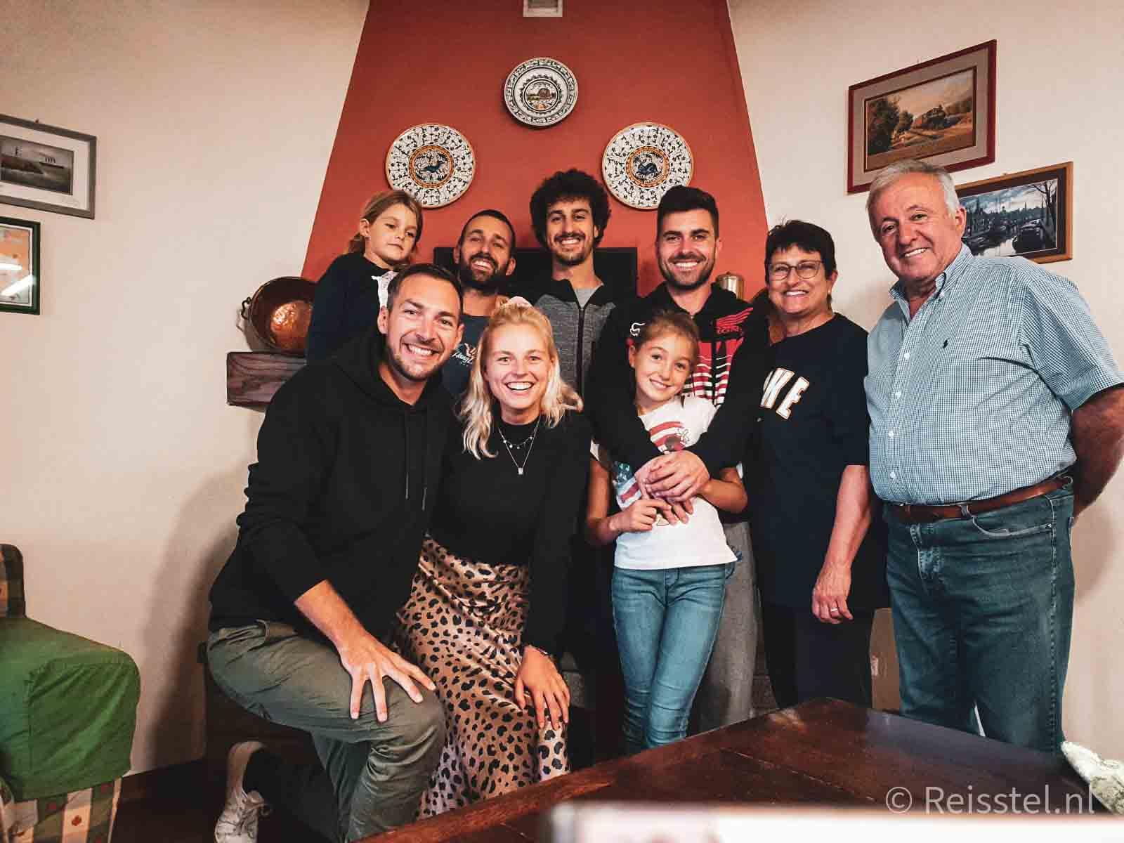 Reisstel.nl | hoogtepunt reizen in Italië | gastvrijheid Italiaans gezin