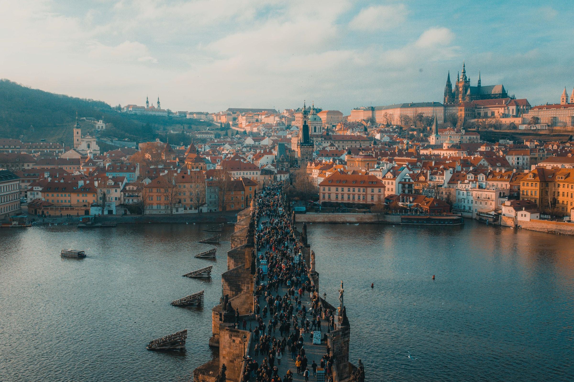 Praag in Tsjechië behoort absoluut tot de mooiste steden in Europa