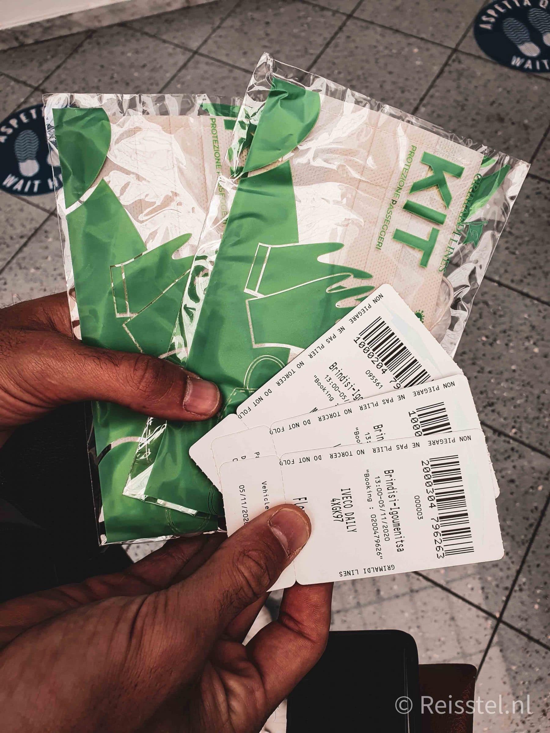 Reisstel.nl | Reizen in coronatijd | tickets boot Griekenland