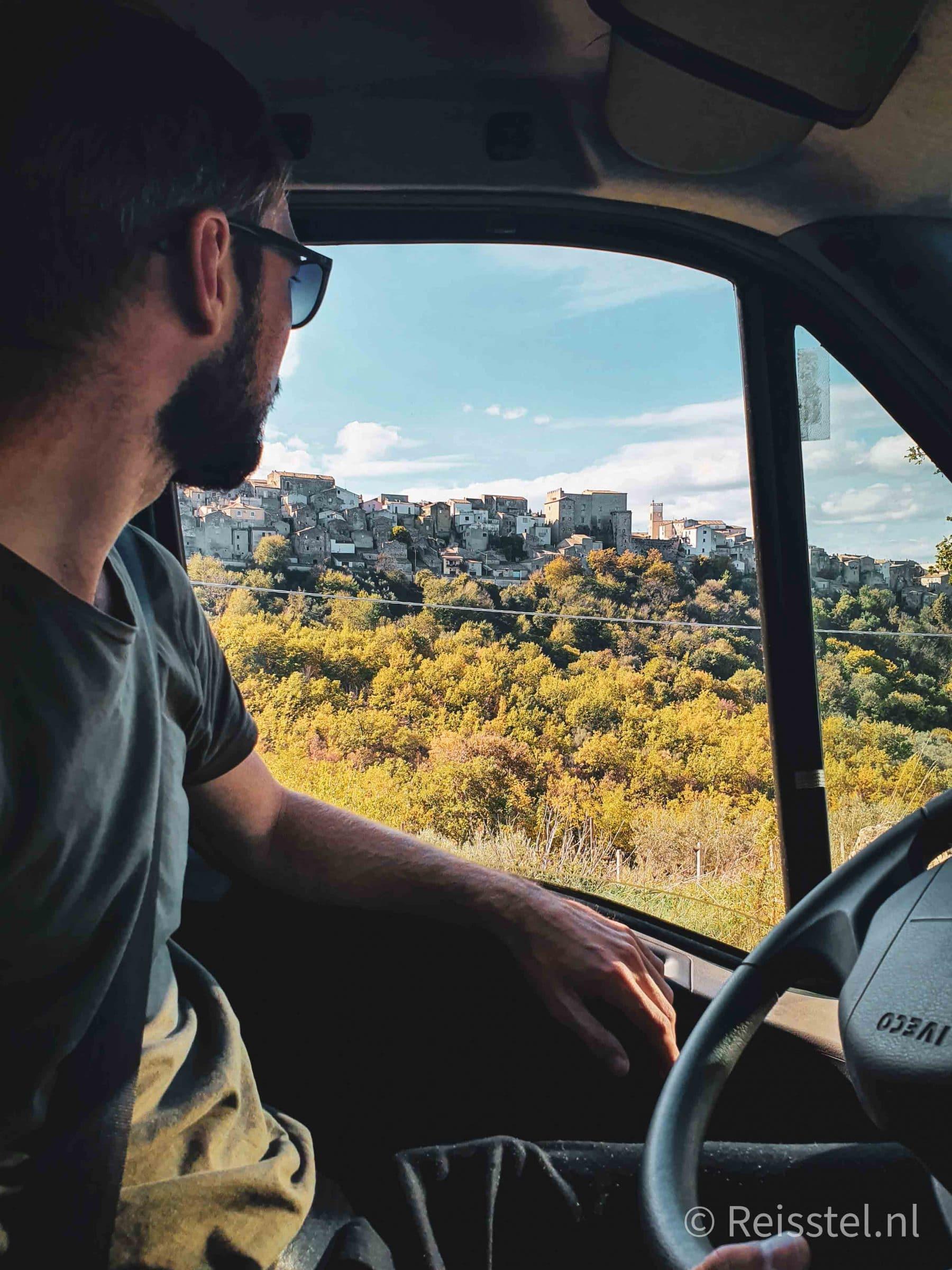 Reisstel.nl | Reizen in coronatijd | Erik onderweg naar Zuid Italië