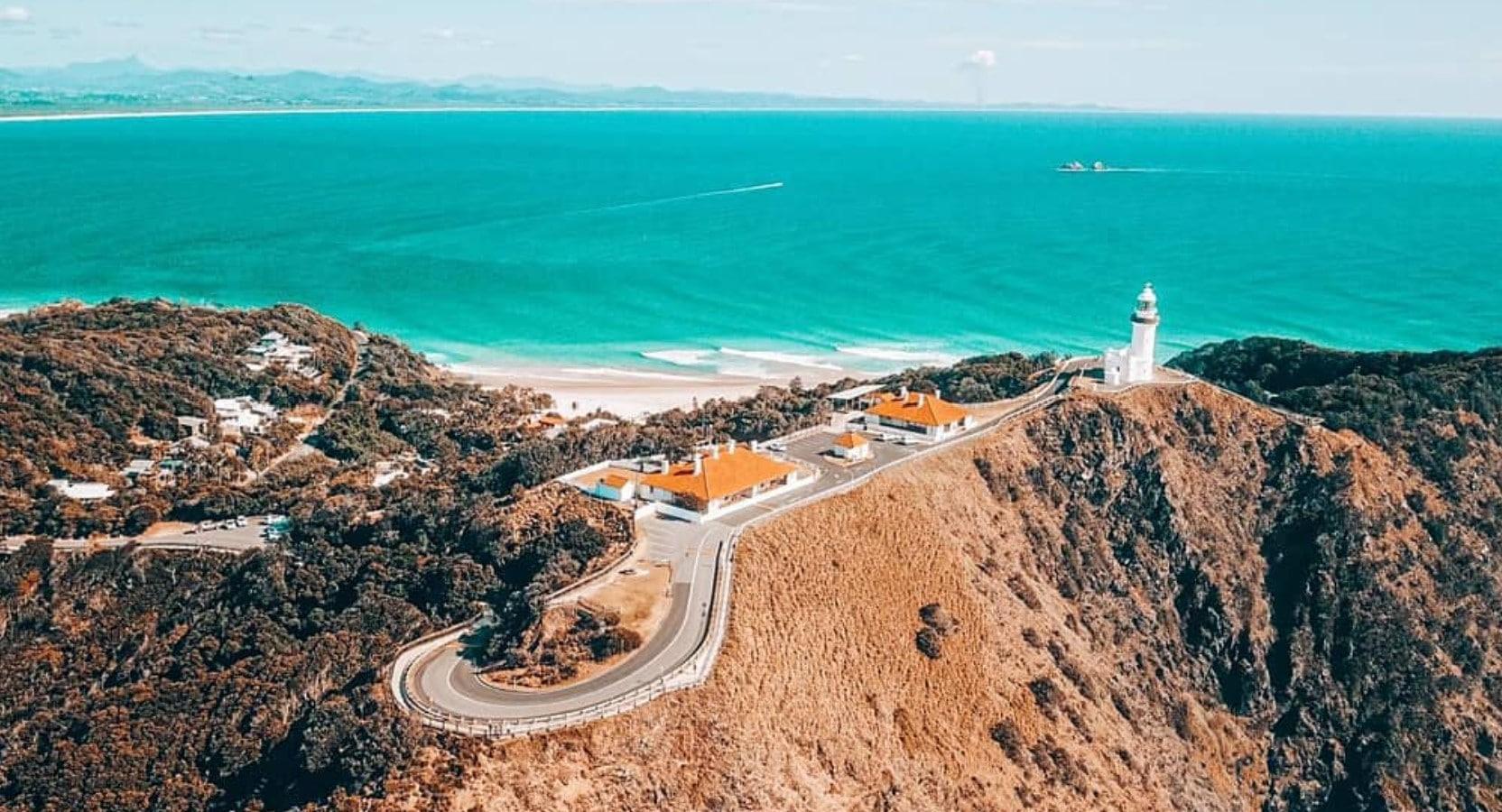 Byron Bay, een populaire bestemming in Australië