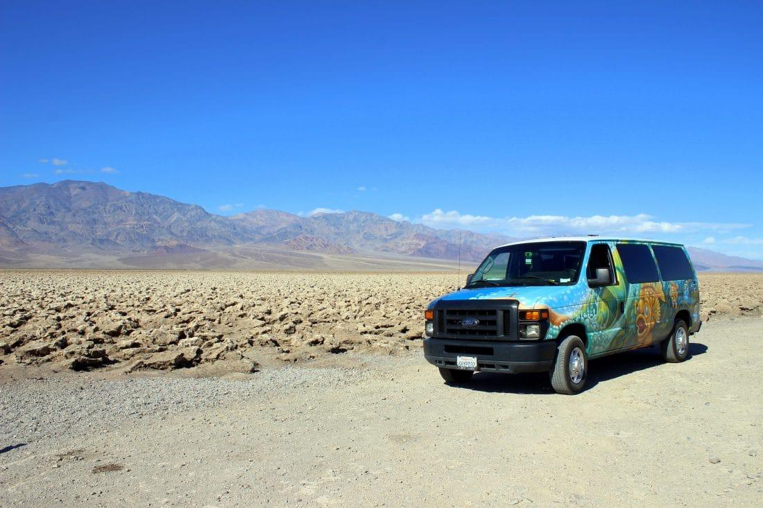 Route West-Amerika - Camperbus