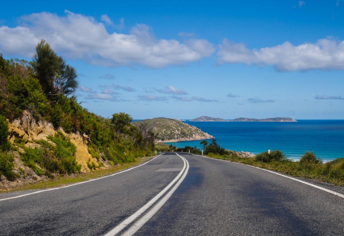 Highway 1 ringweg in Australië