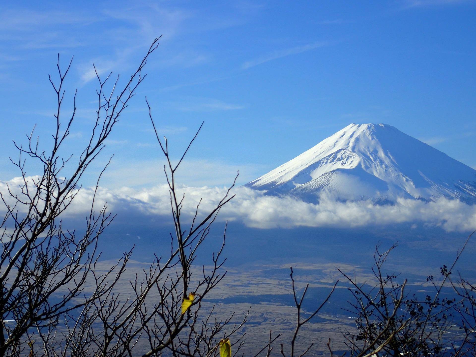 Mount Fuji vanuit Hakone