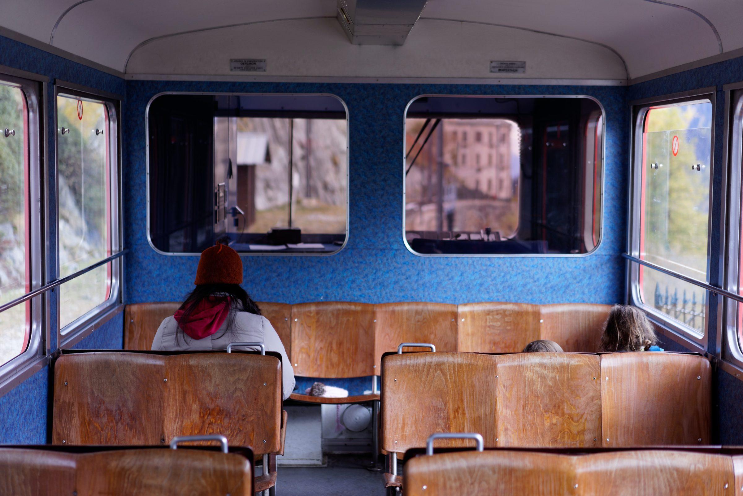 Wereldreis route - openbaar vervoer