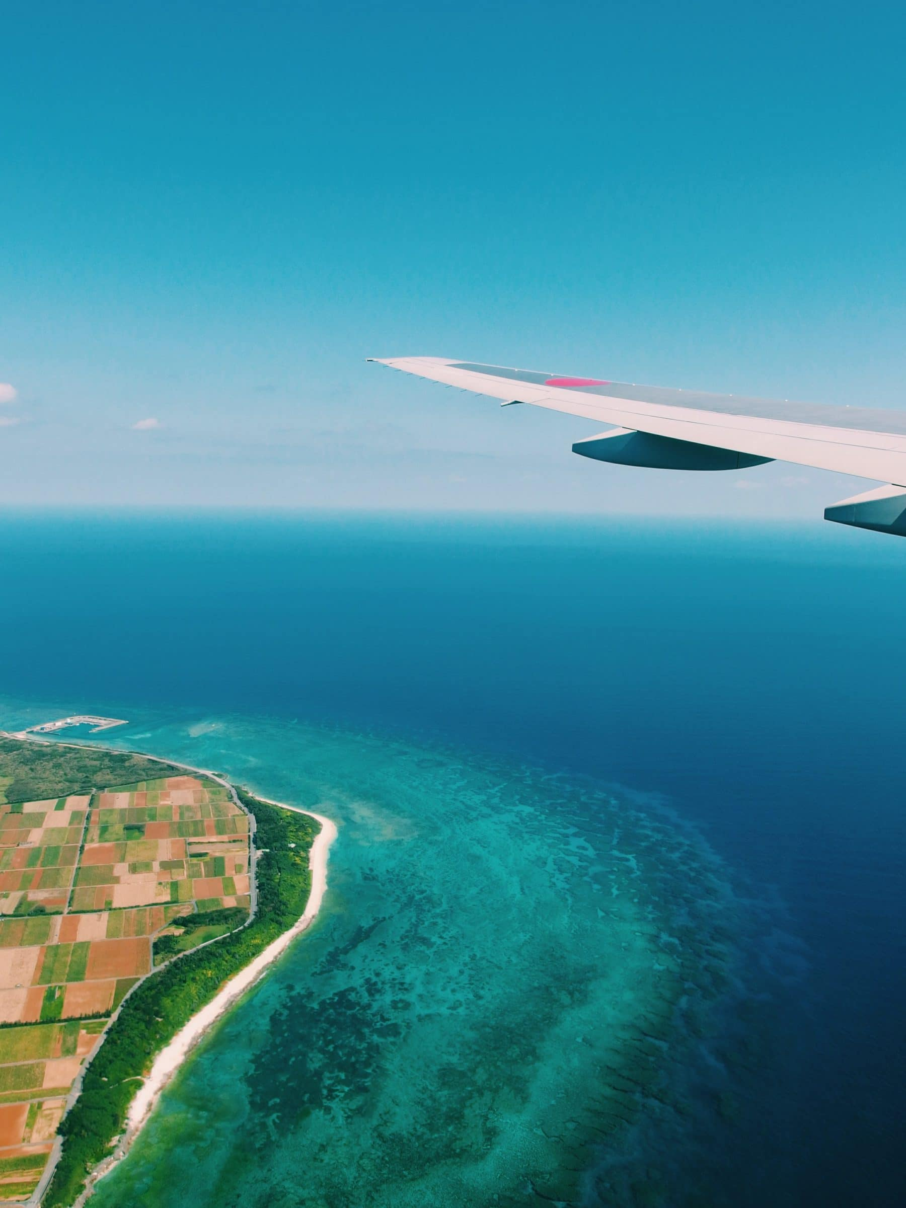 Tahiti vanuit de lucht