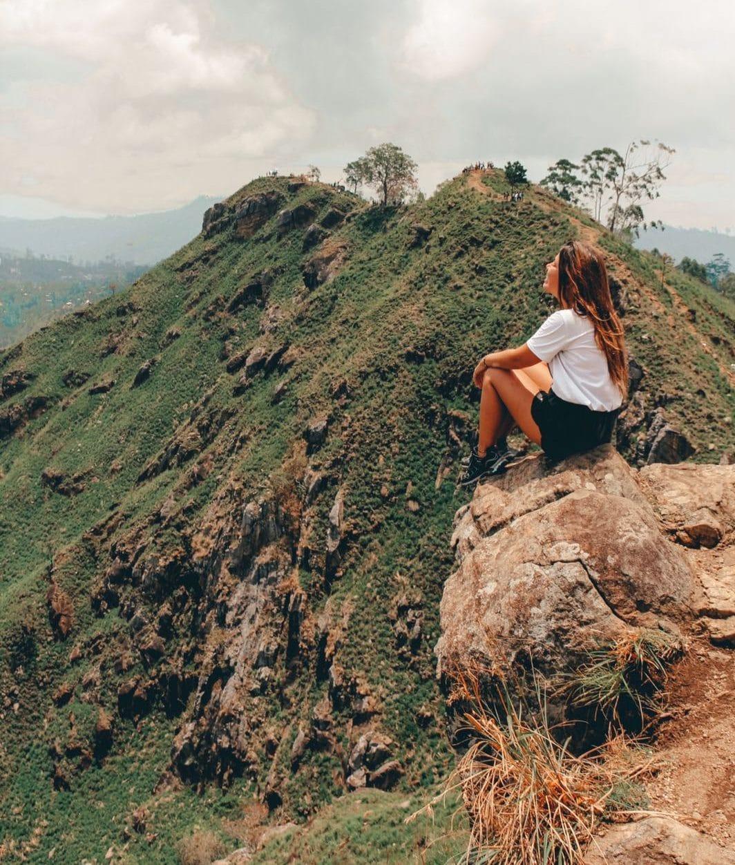 Uitzichtpunt in Ella, Sri Lanka