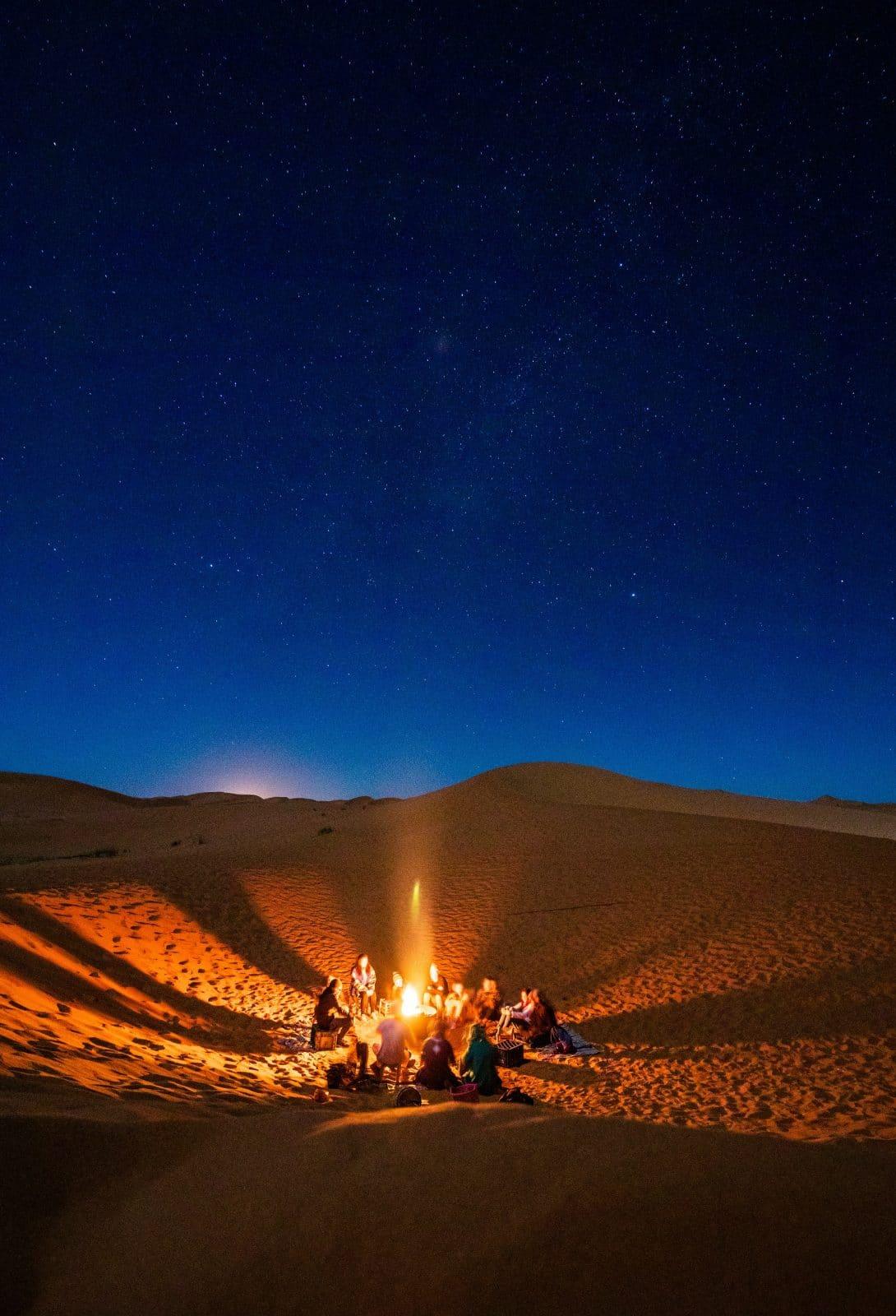 Sterrenhemel Sahara Woestijn