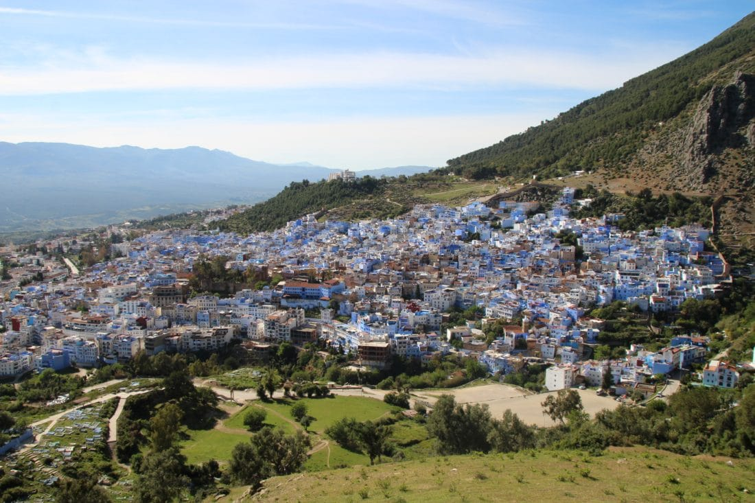 Viewpoint in Chefchaouen - Marokko