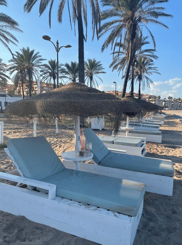 Stranden van Valencia
