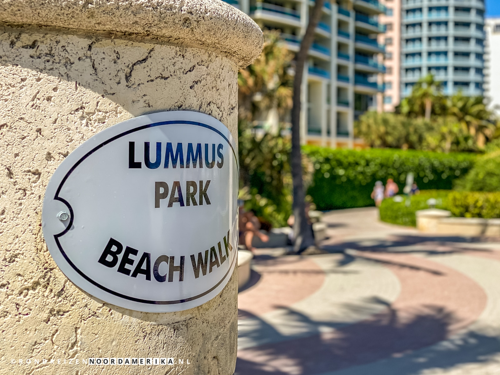Lummus Park Boardwalk - heerlijk om lekker te ontspannen en sporten