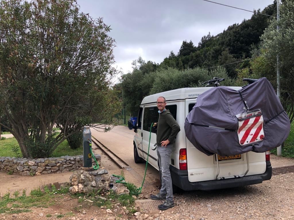 Gratis water in Sardinië