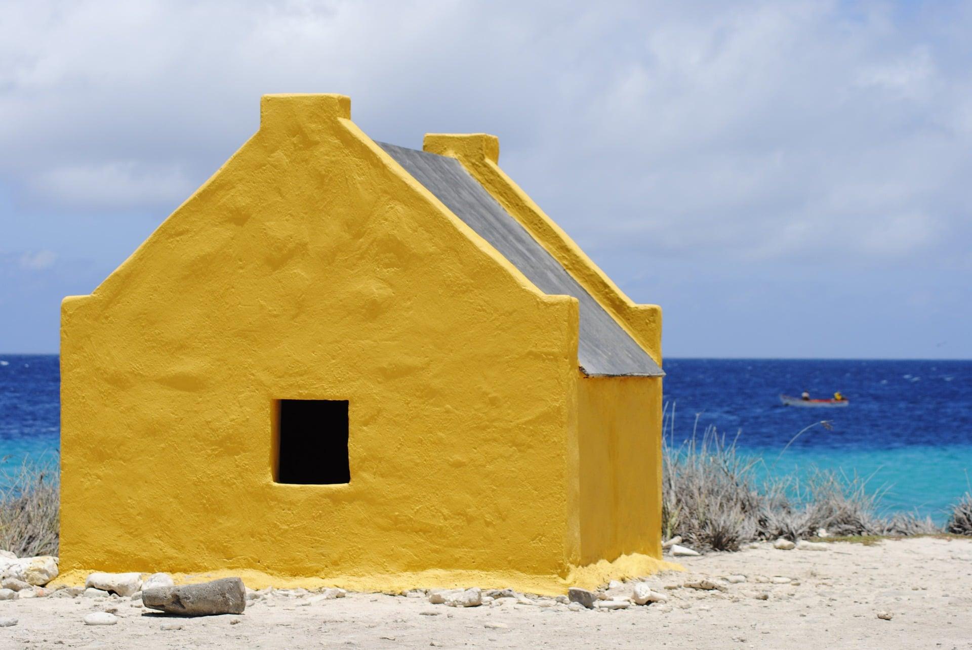 Wat te doen op Bonaire: slavenhuisjes