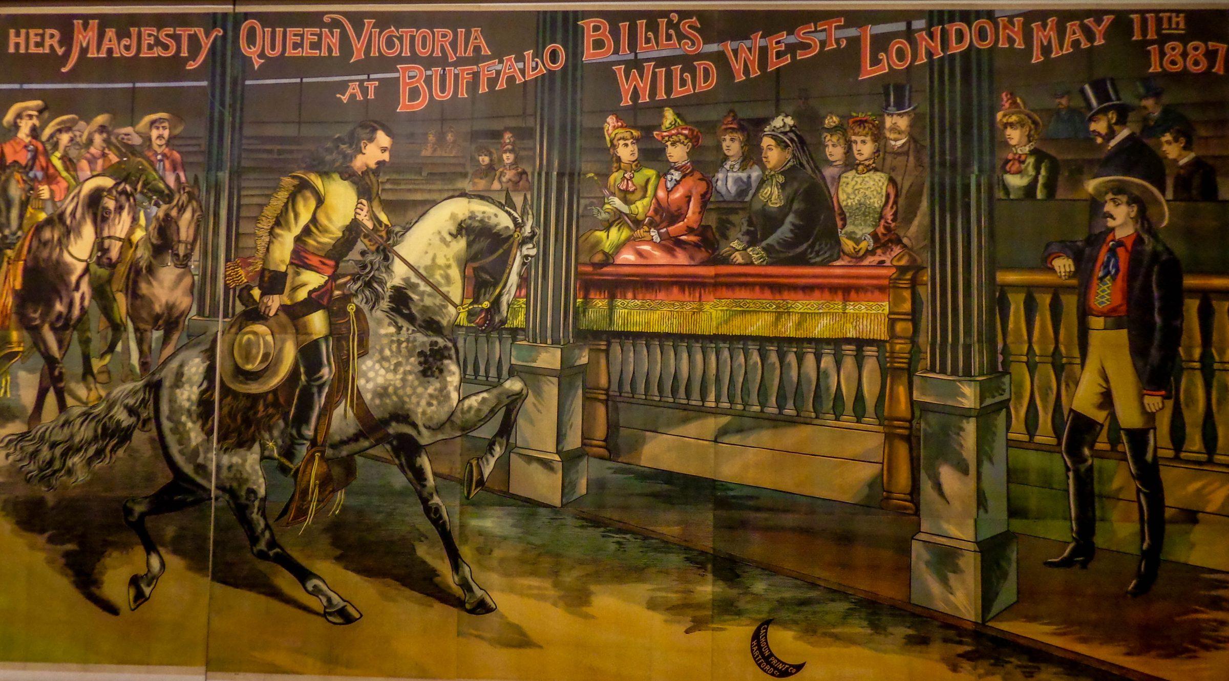 Buffalo Bill Wild West show in Londen 1887