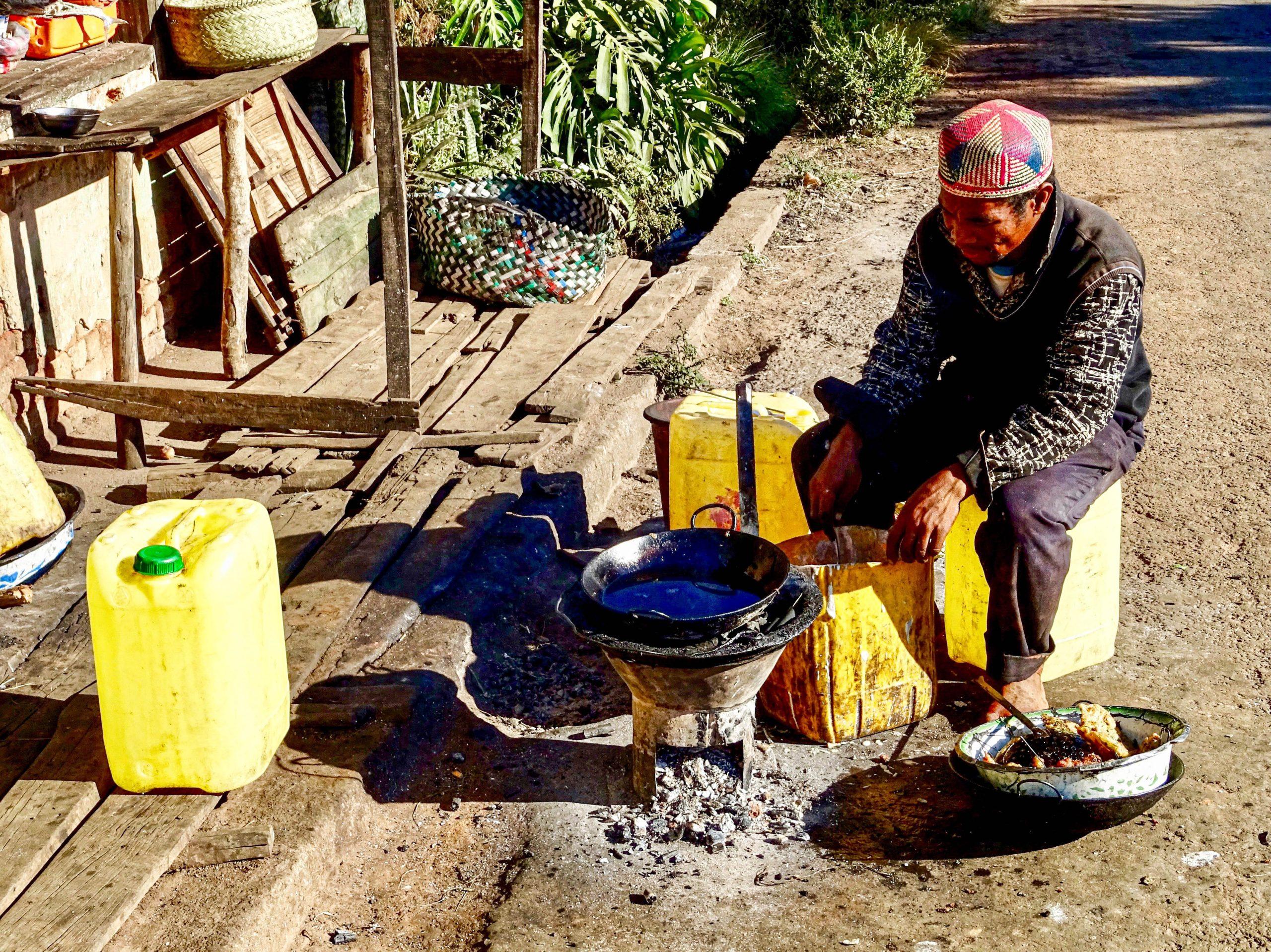 De oliebollenman in Betafo