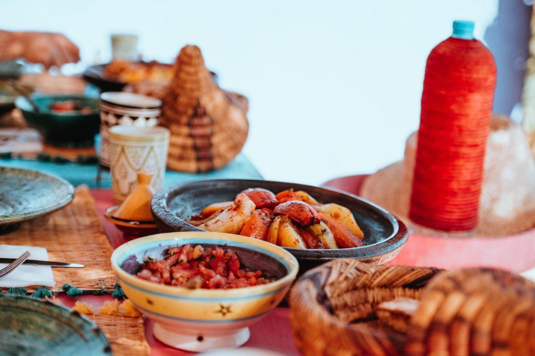 Dineren in Marokko