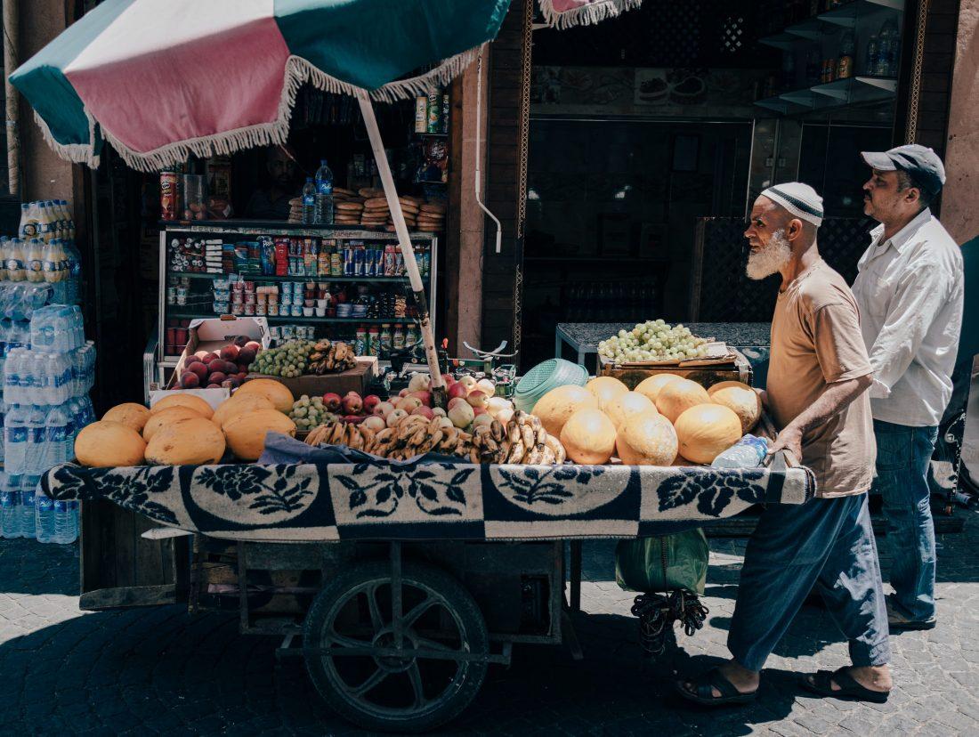 Eten in Marokko is erg goedkoop