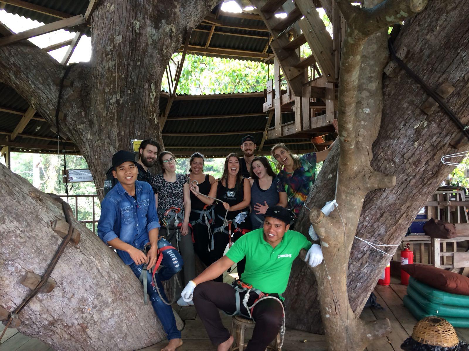 Gibbon Experience groep, Laos