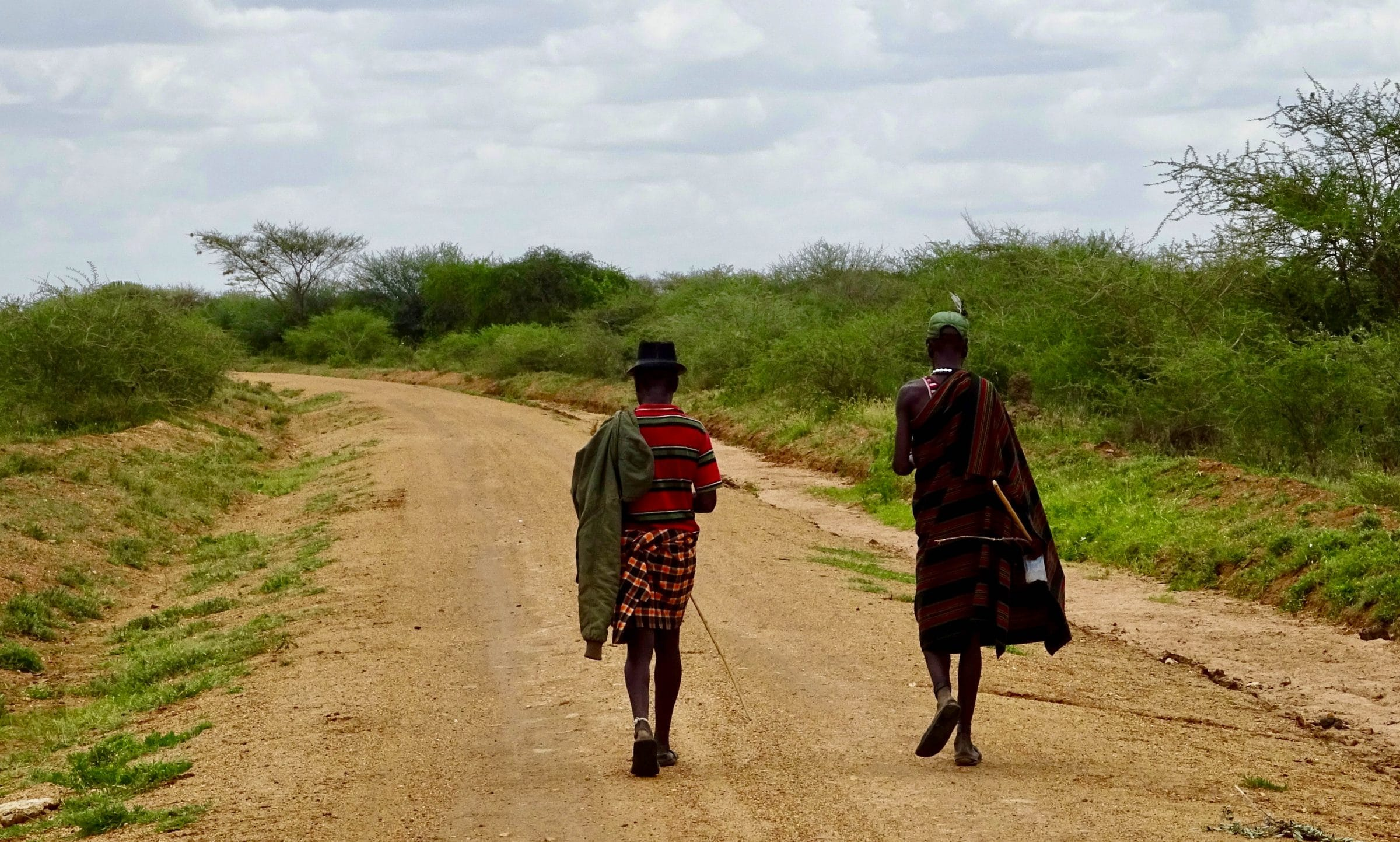 Herders in Matheniko Game Reserve