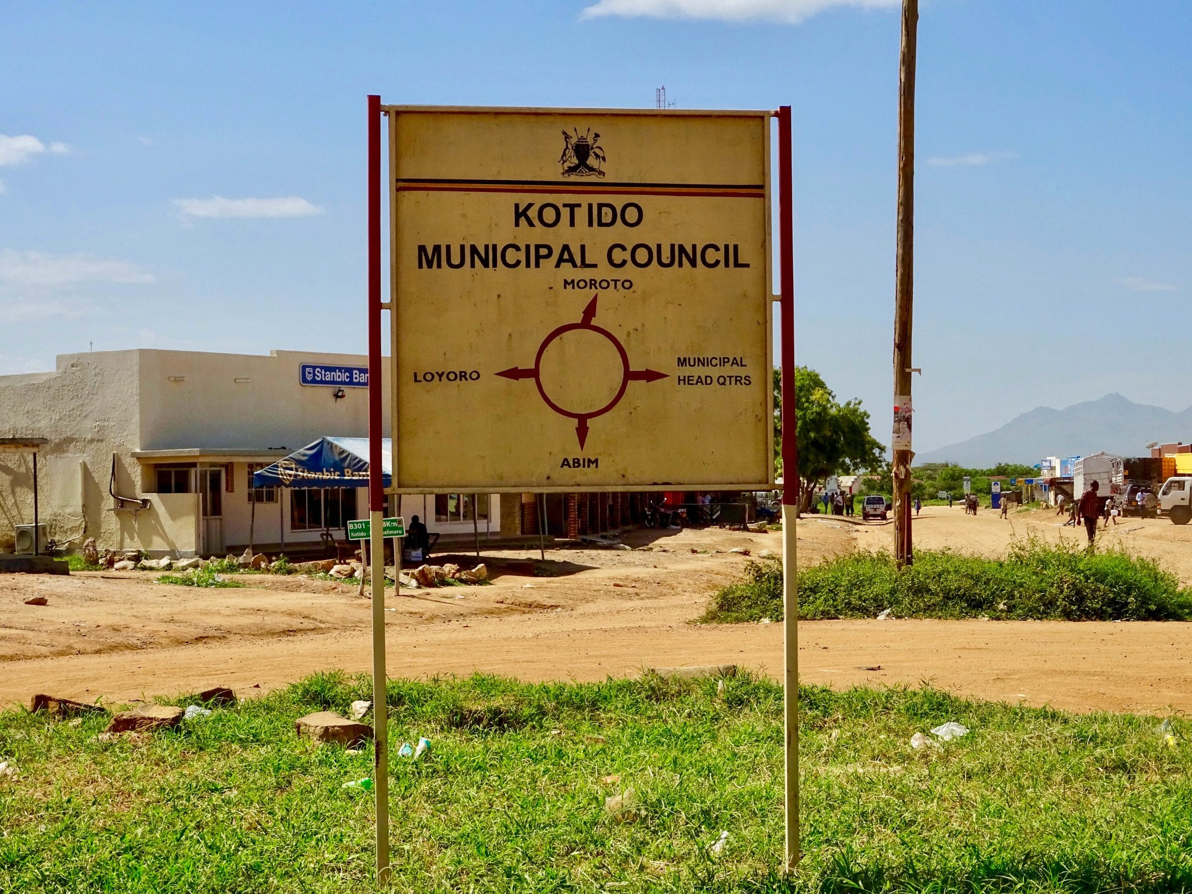 Rotonde in Kotido