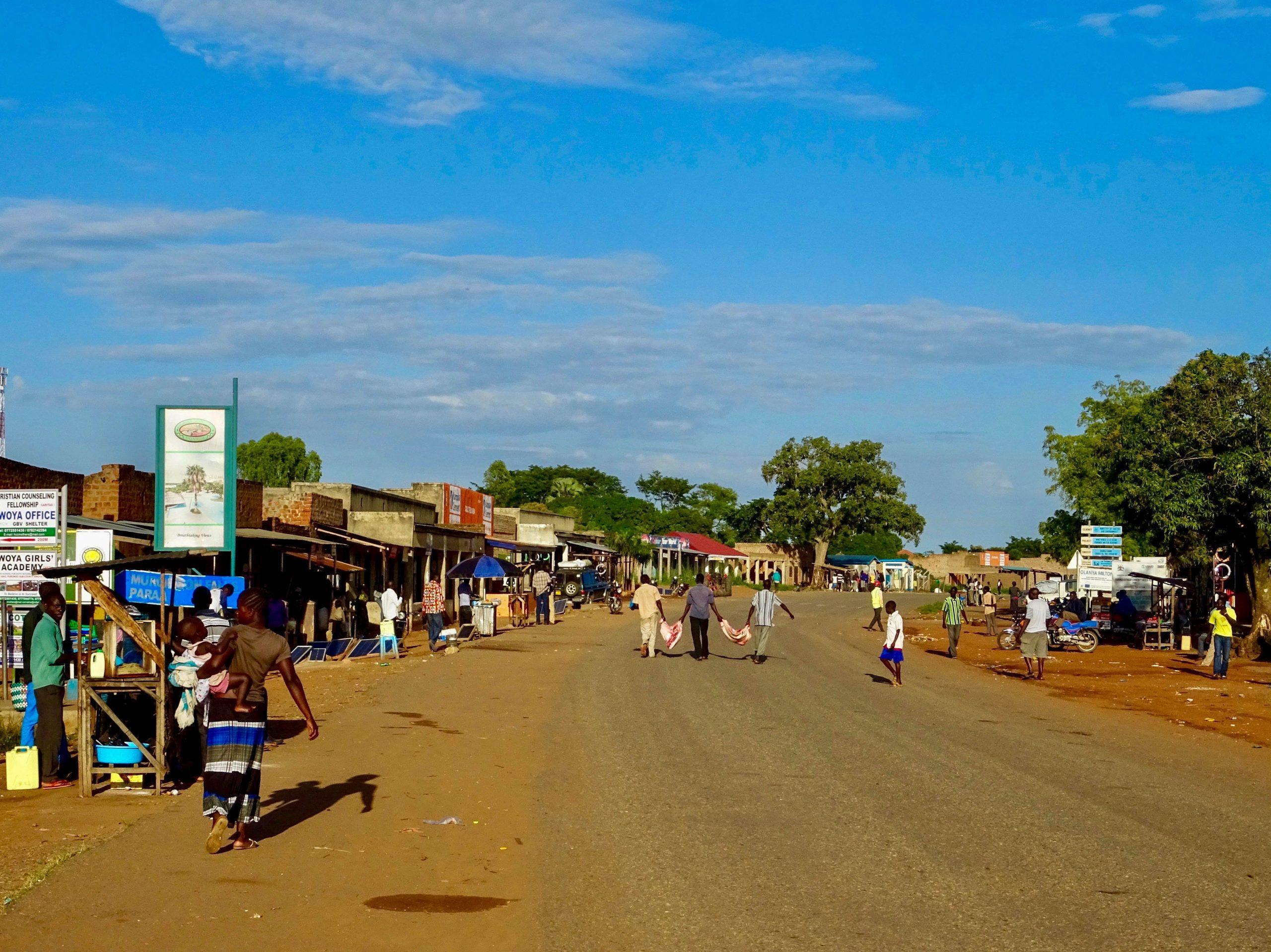 Het centrum van Purongo