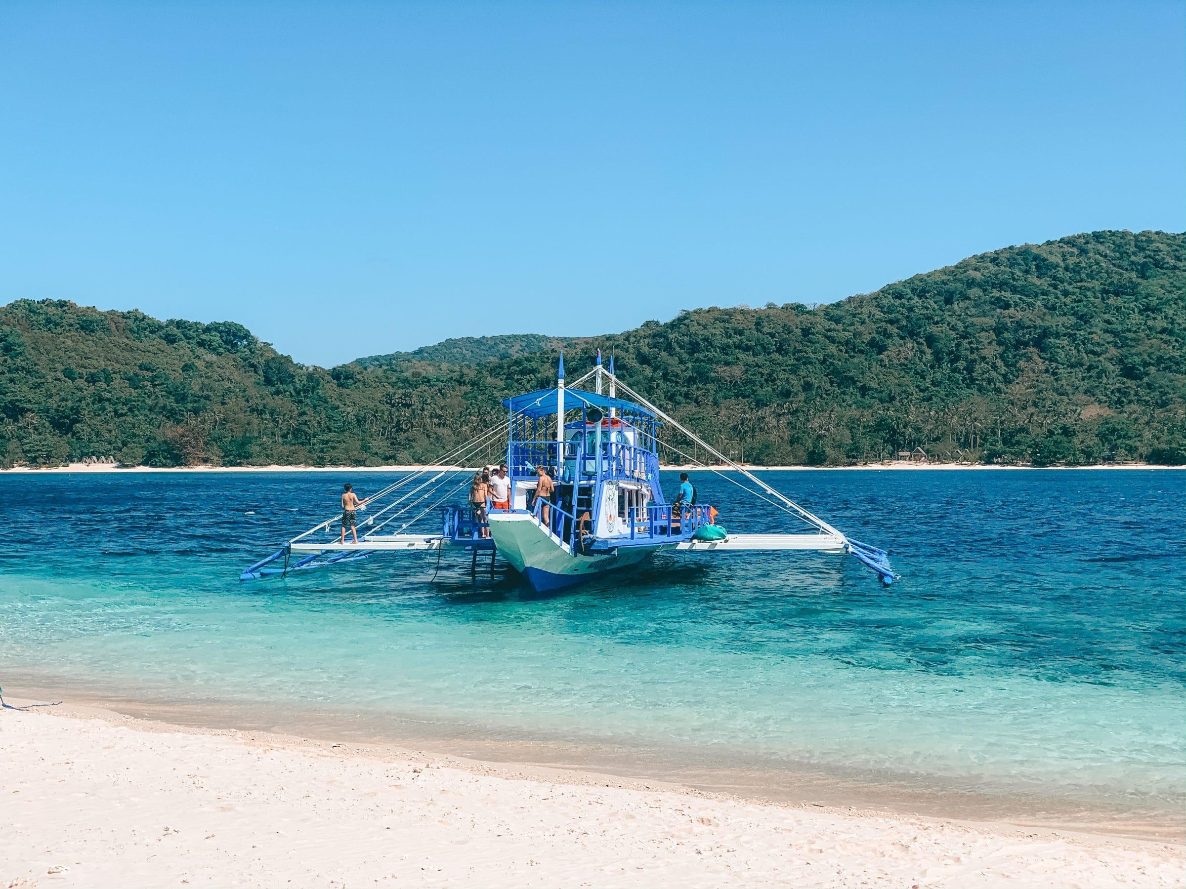 De boottocht van Coron naar El Nido, Filipijnen