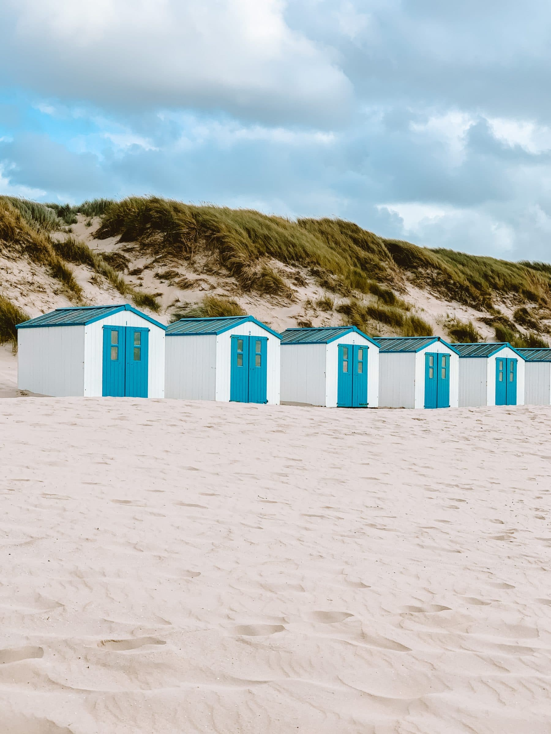 Bezienswaardigheden Texel - strandhuisjes