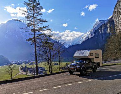 Offgrid 4×4 camper upgrade | Zware bladveren + Upgrade schokdempers | Zwitserland