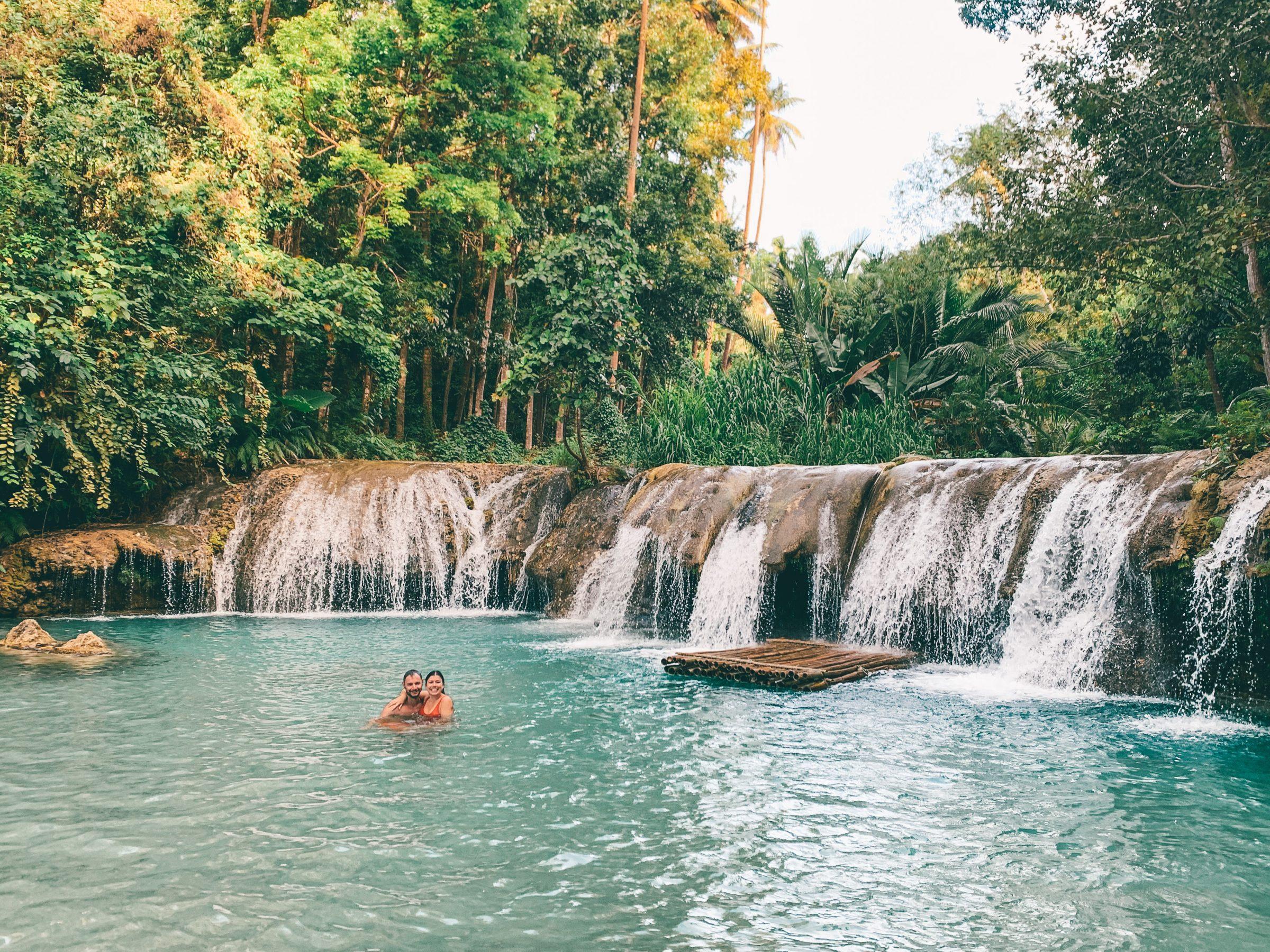Cambugahay watervallen, siquijor