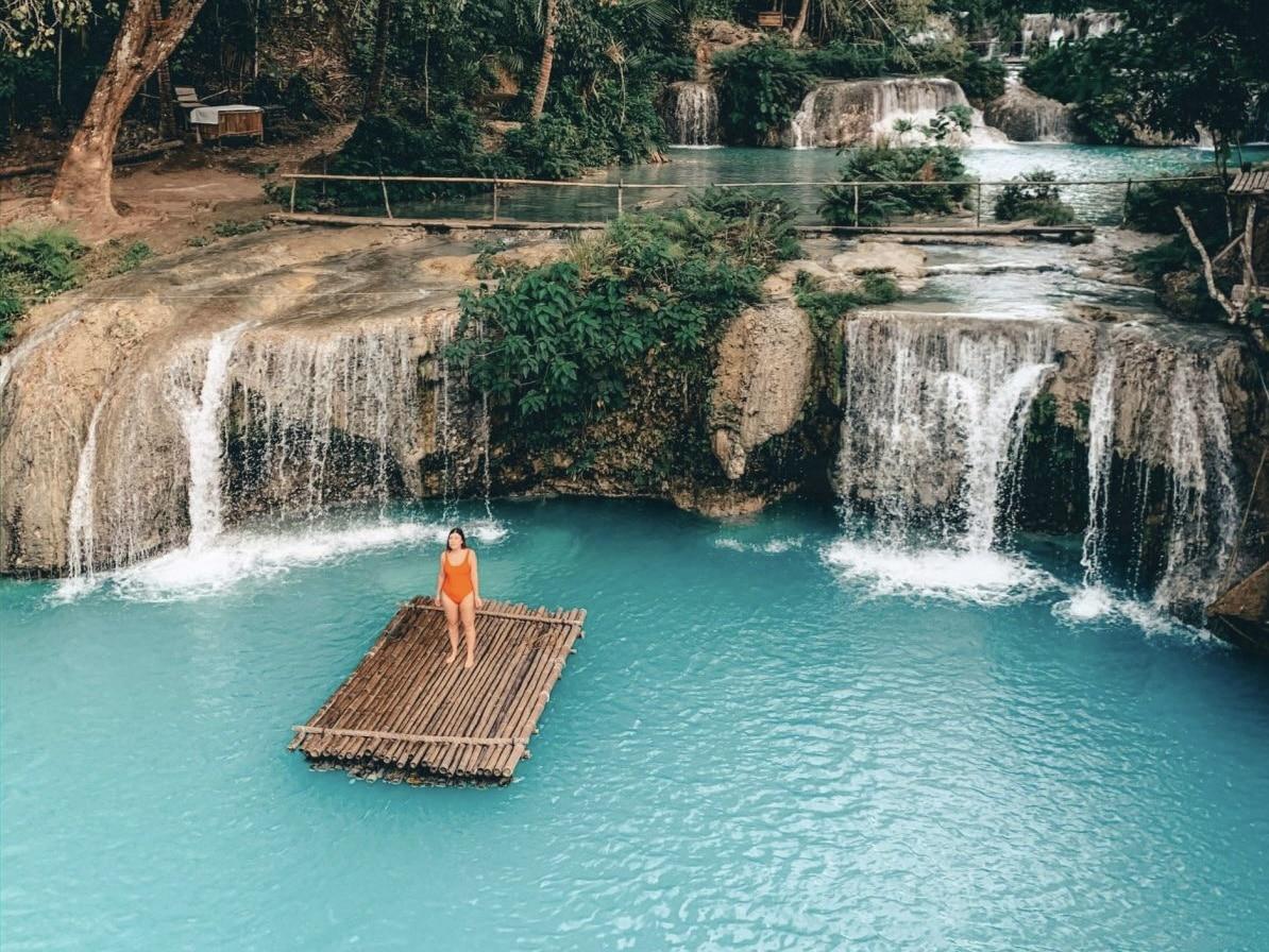 reisroute Filipijnen - Cambugahay watervallen