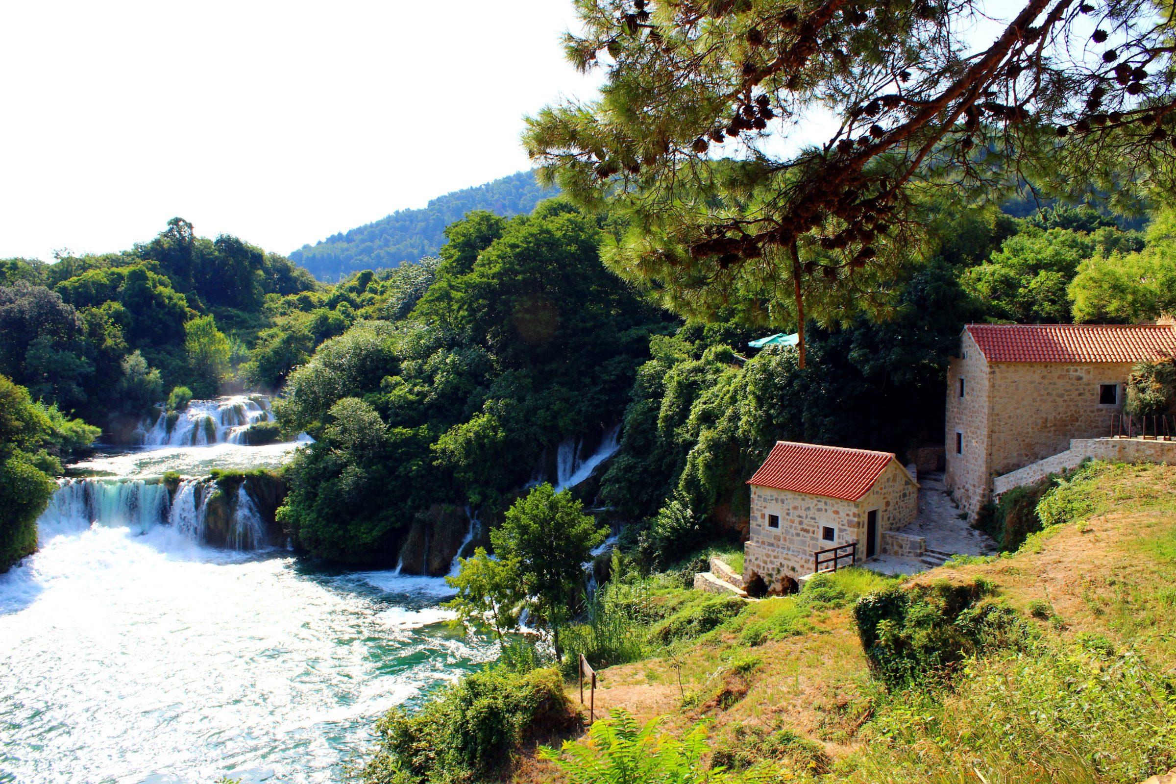 Omgeving van Krka Nationaal Park