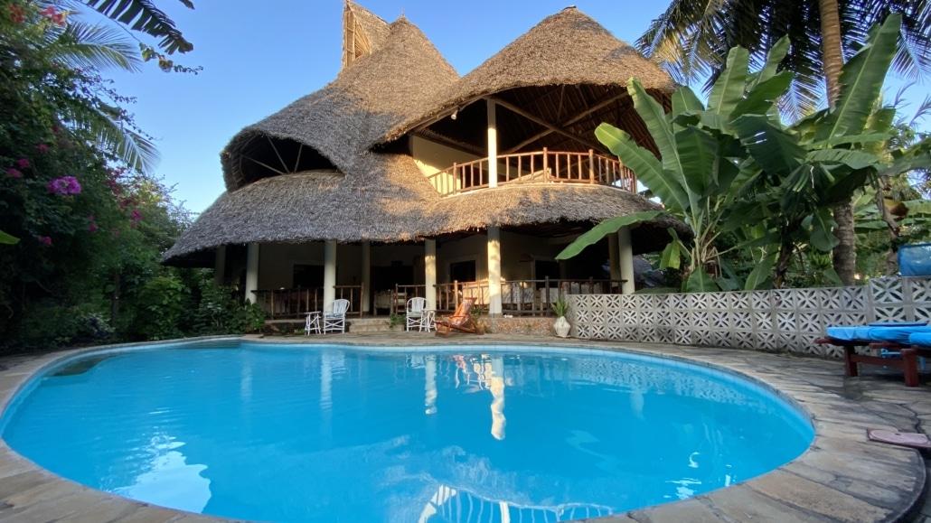 De remote werken villa in Diani