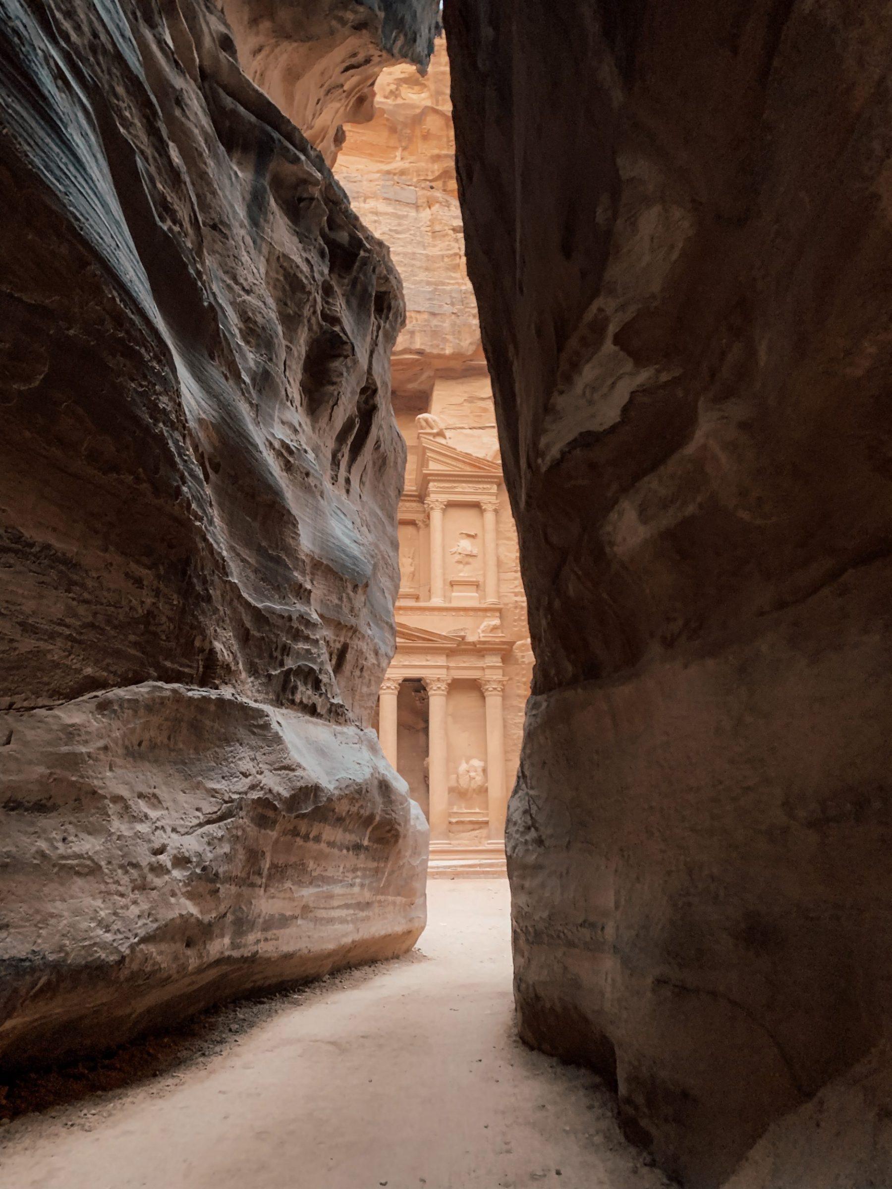 Vroeg op pad gaan loont absoluut in Petra!