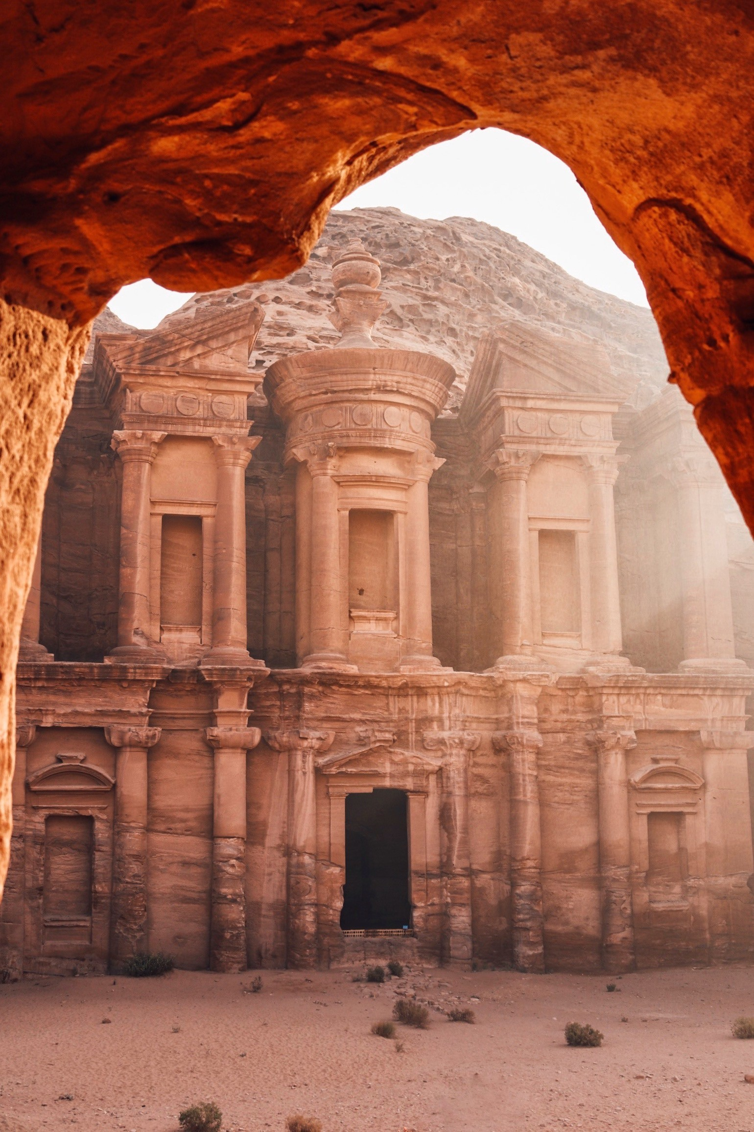 The Monastery, Petra, Jordanië