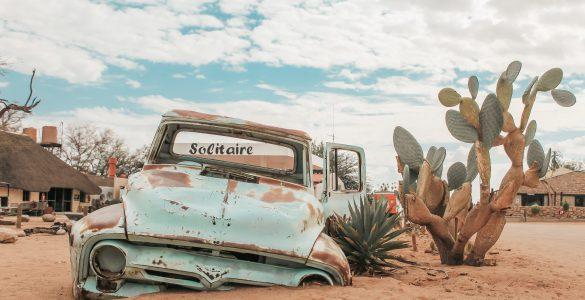 Solitaire Namibië