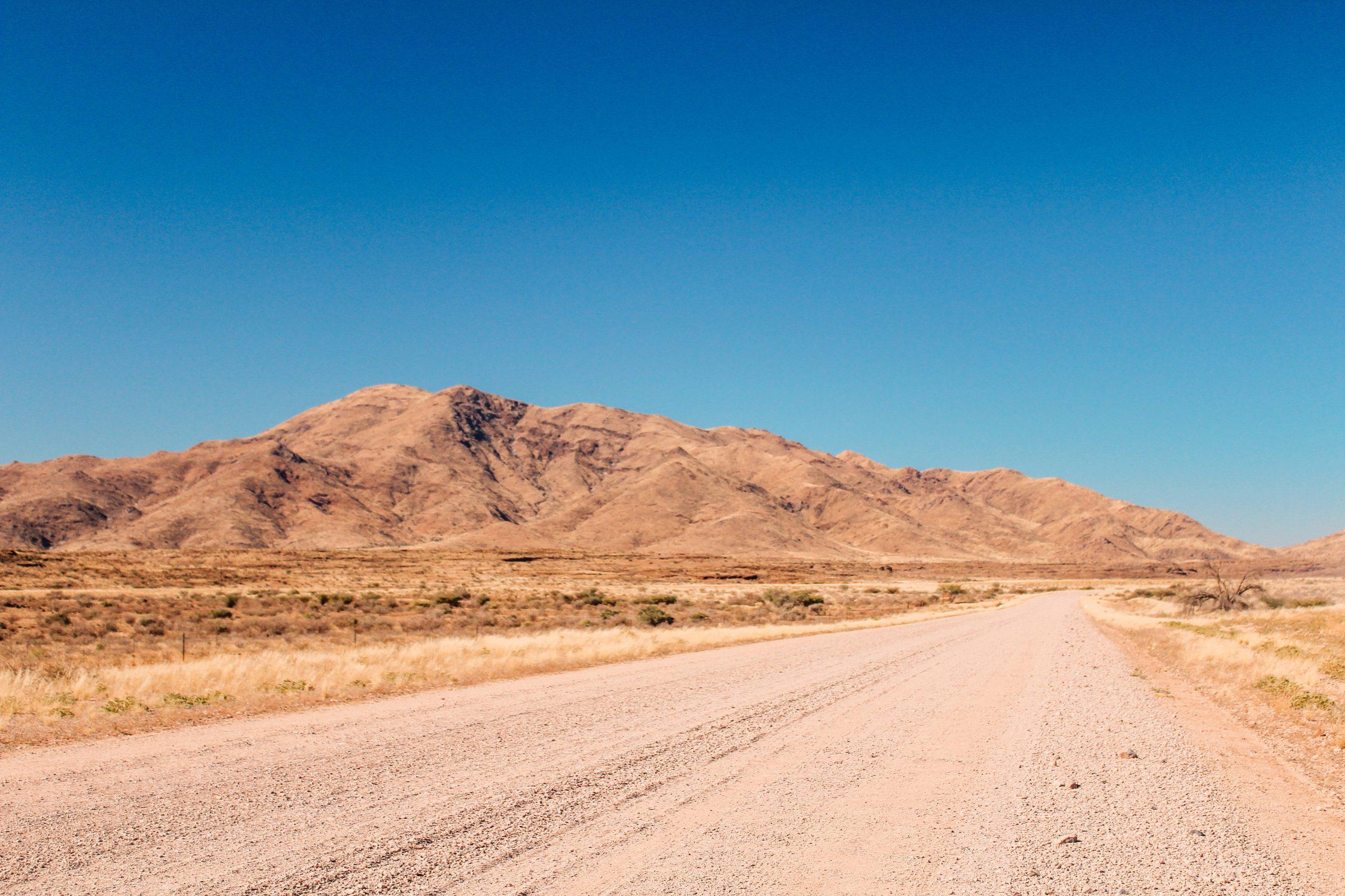 De bekende gravelwegen van Namibië