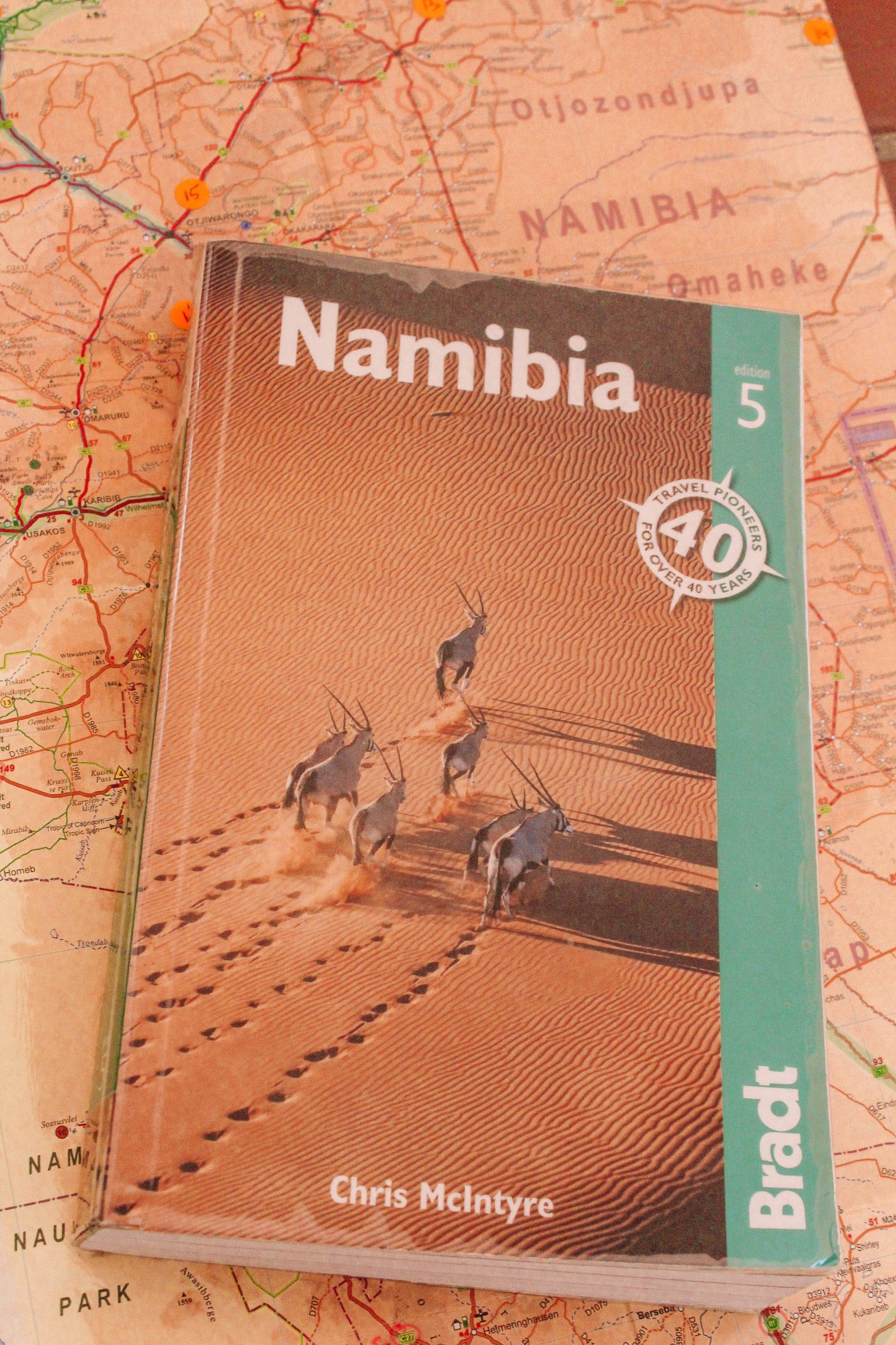 Voorbereiding Namibië   Mijn favoriete reisgids