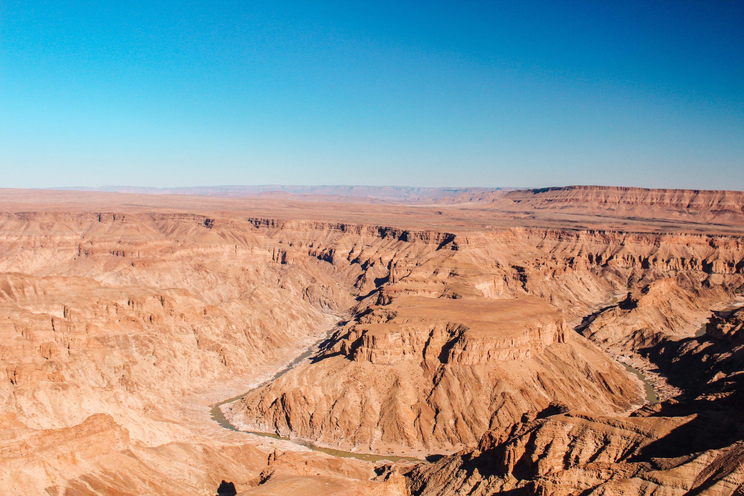 Fish River Canyon main viewpoint